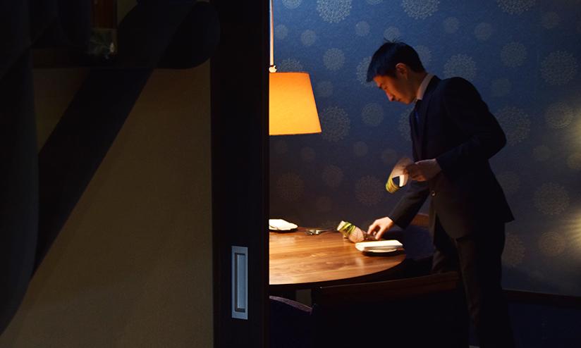 リストランテナカモト様の個室