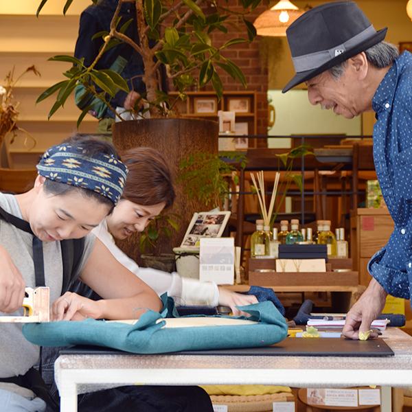 DIYレンタル工房フィンガーファクトリー椅子張り替えワークショップ