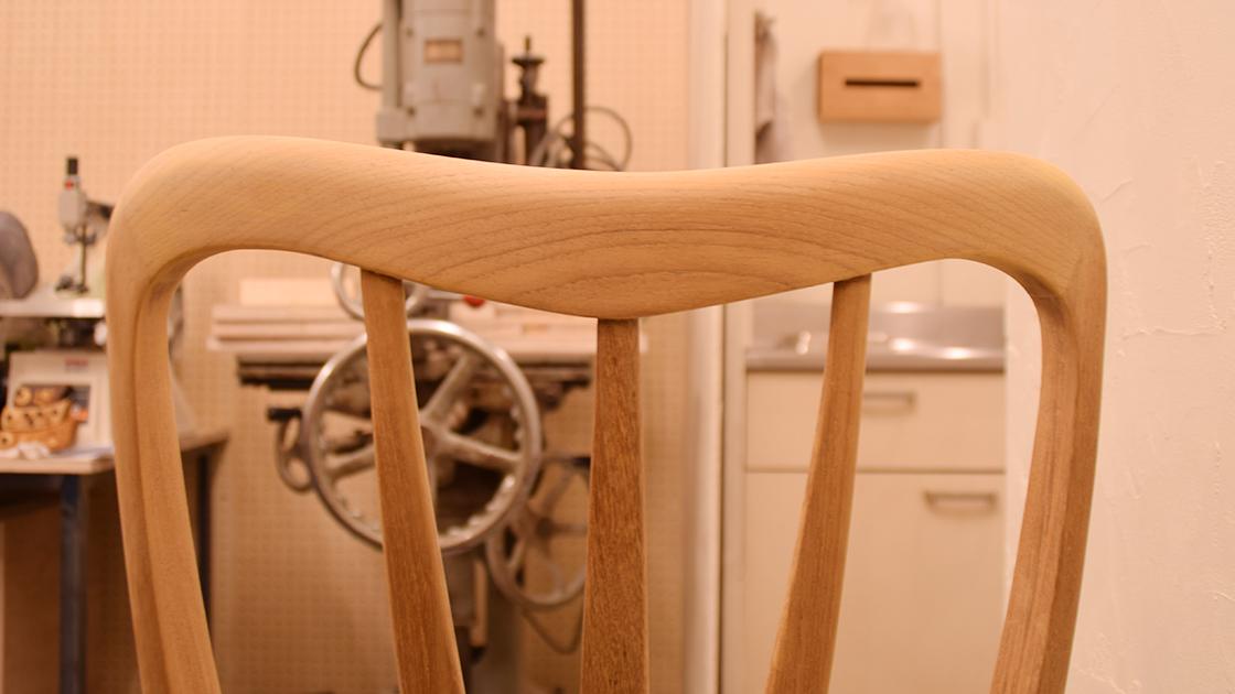 北欧椅子をオイル仕上げにリメイク