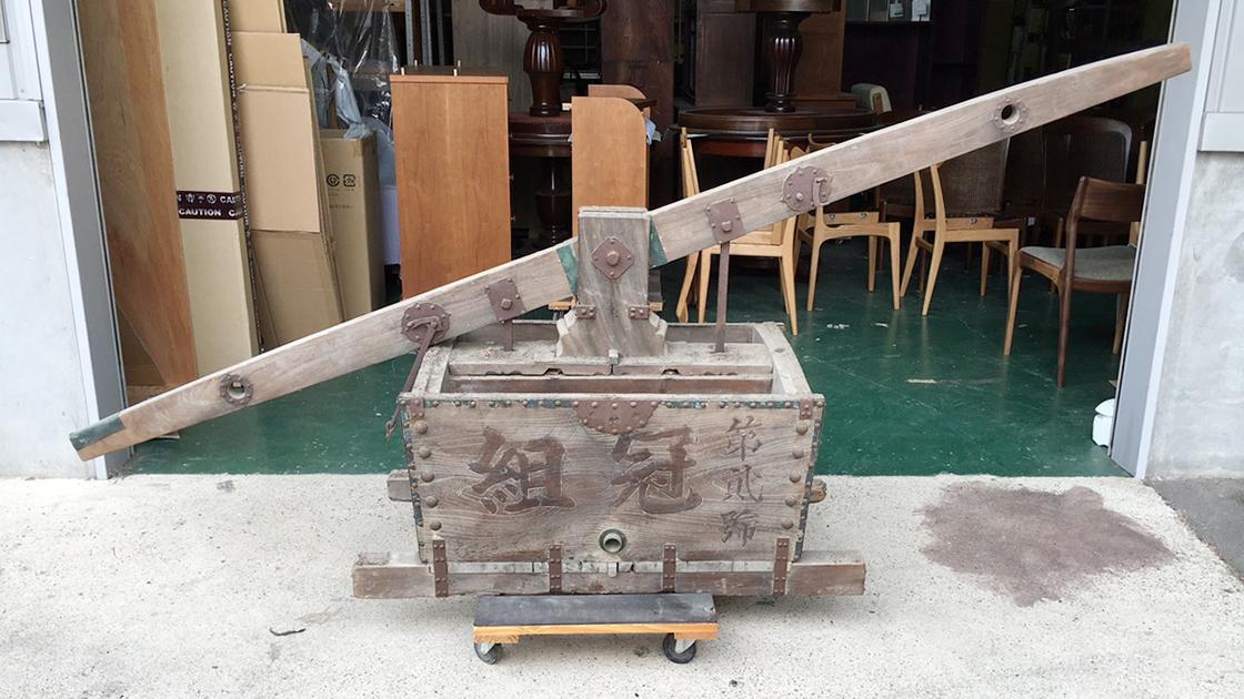 竜吐水修理_京都家具クリニック1
