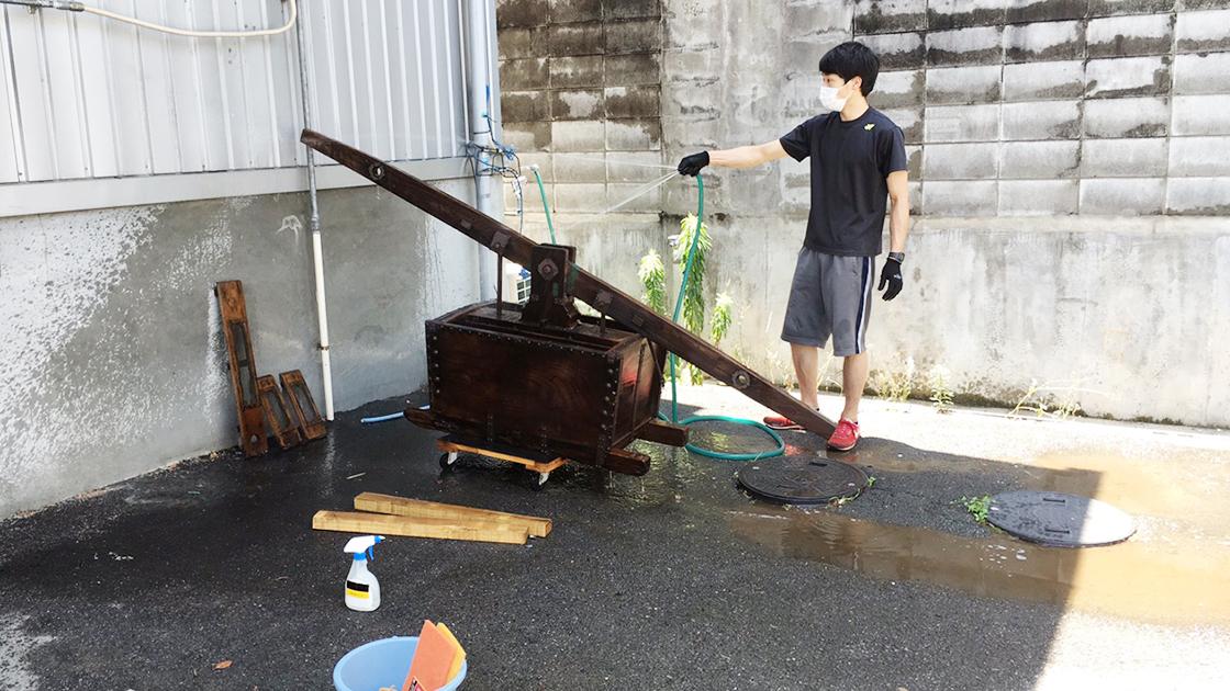 竜吐水修理_京都家具クリニック8