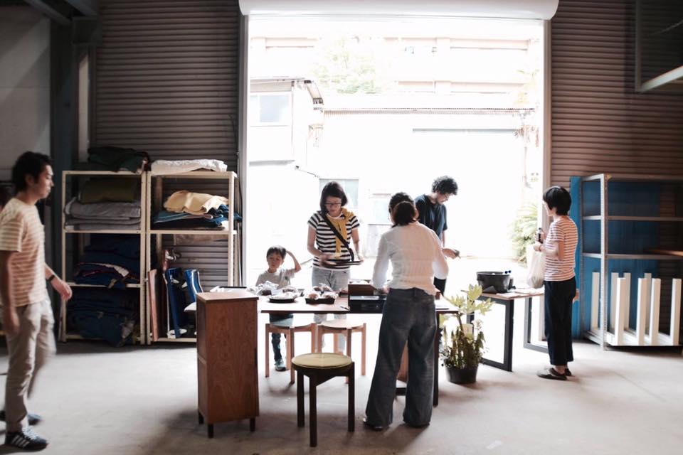 京都家具ショップfingermarksワークショップ