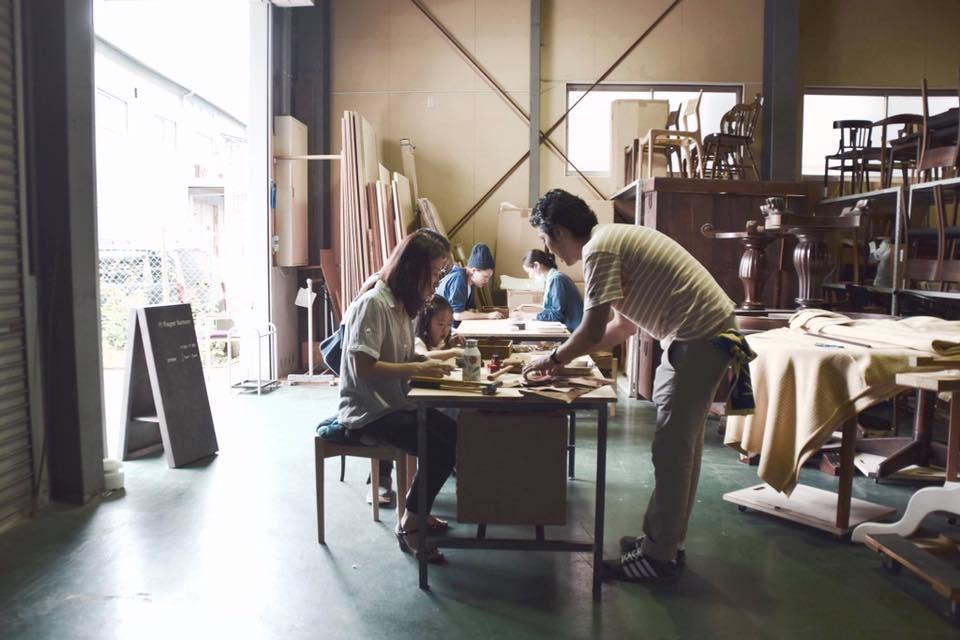 京都家具フィンガーマークスワークショップイベント