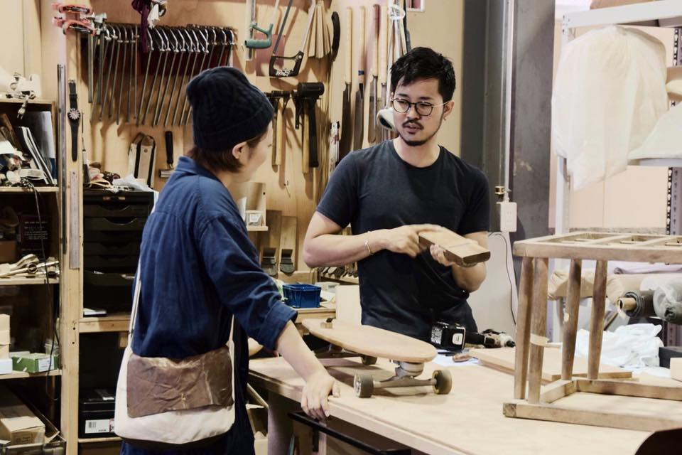 京都家具職人と話すワークショップ