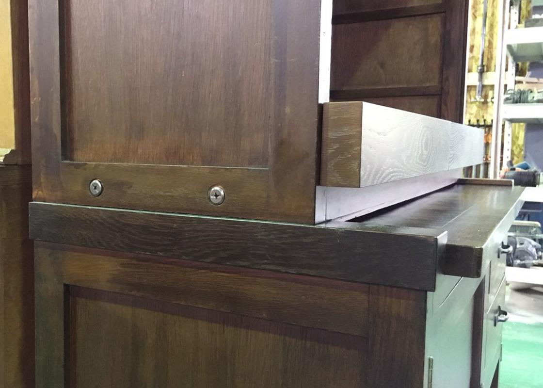 食器棚リメイク