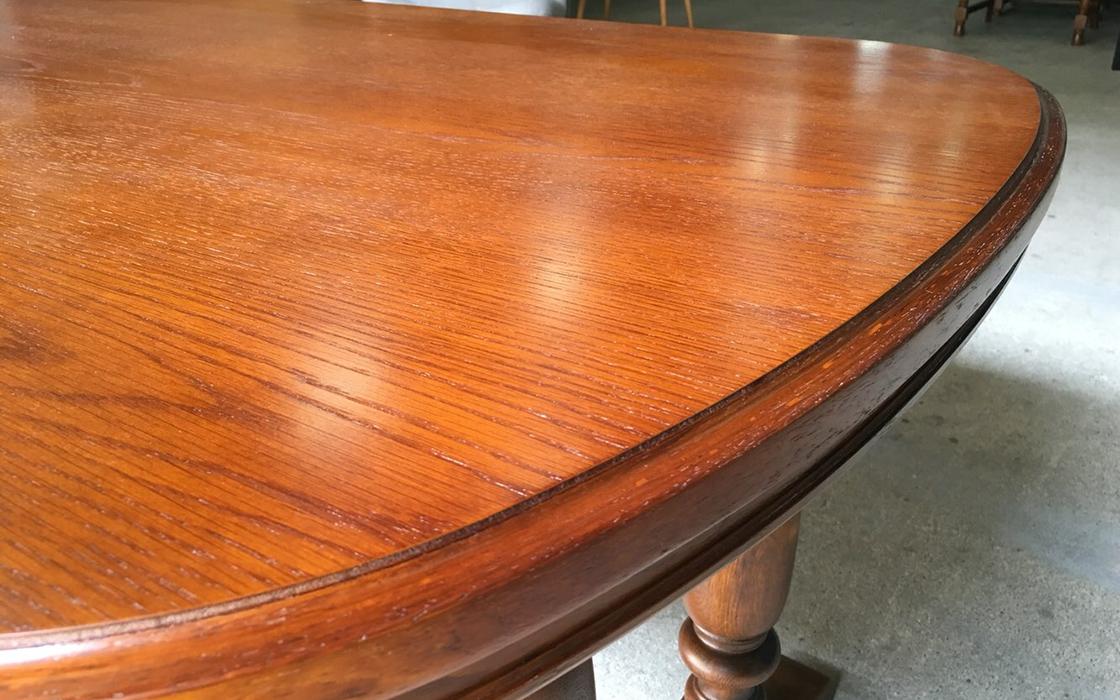ダイニングテーブル塗装