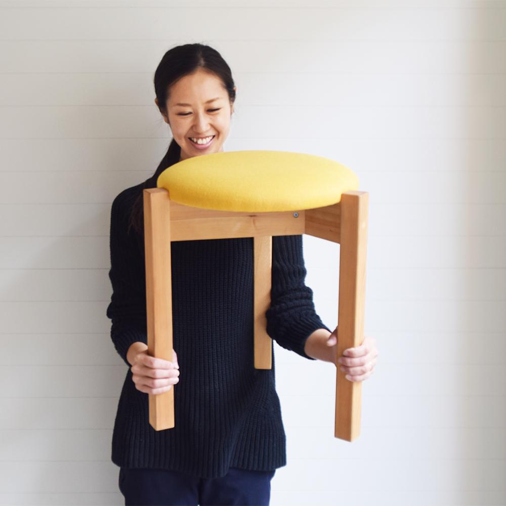 京都家具店フィンガーマークス木のスツールを作るワークショップ