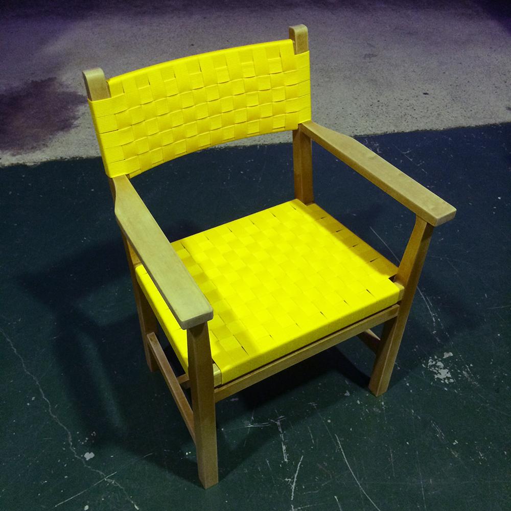 京都家具修理フィンガーマークス椅子
