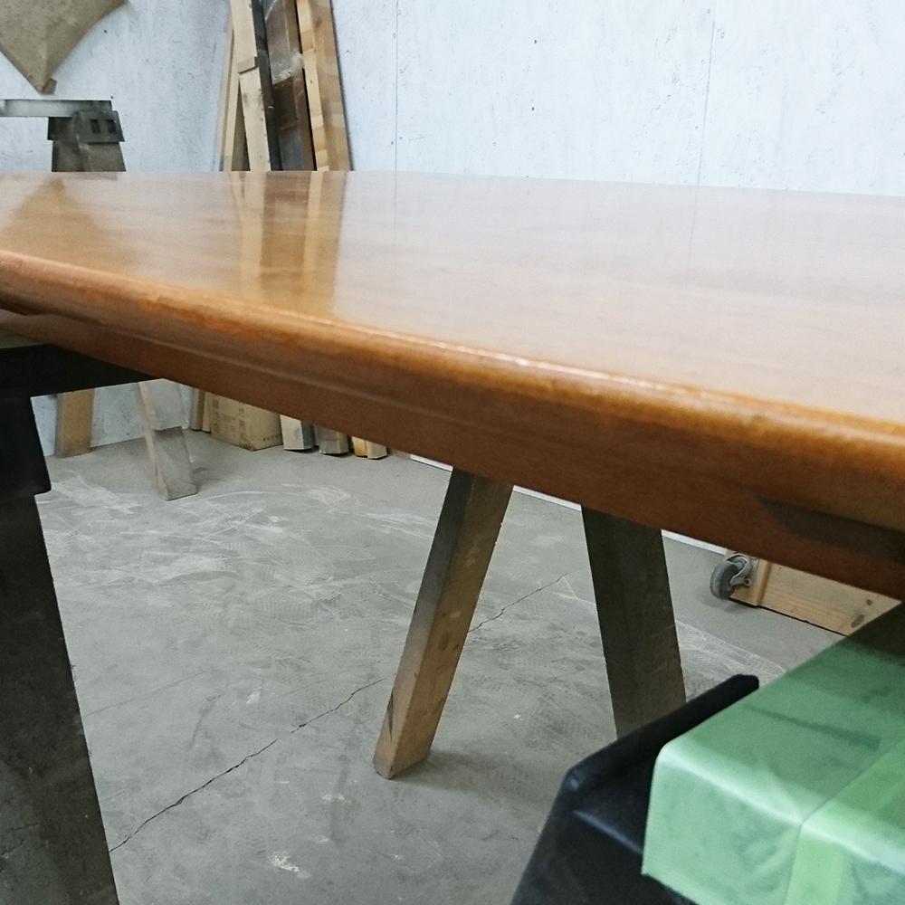 テーブル傷修理