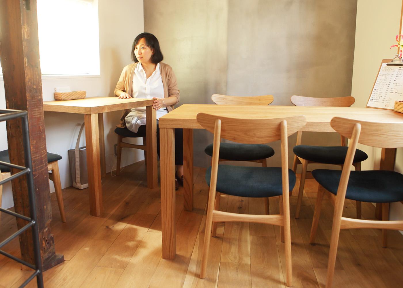 おしゃれな飲食店家具和歌山県新宮市Meganeパン