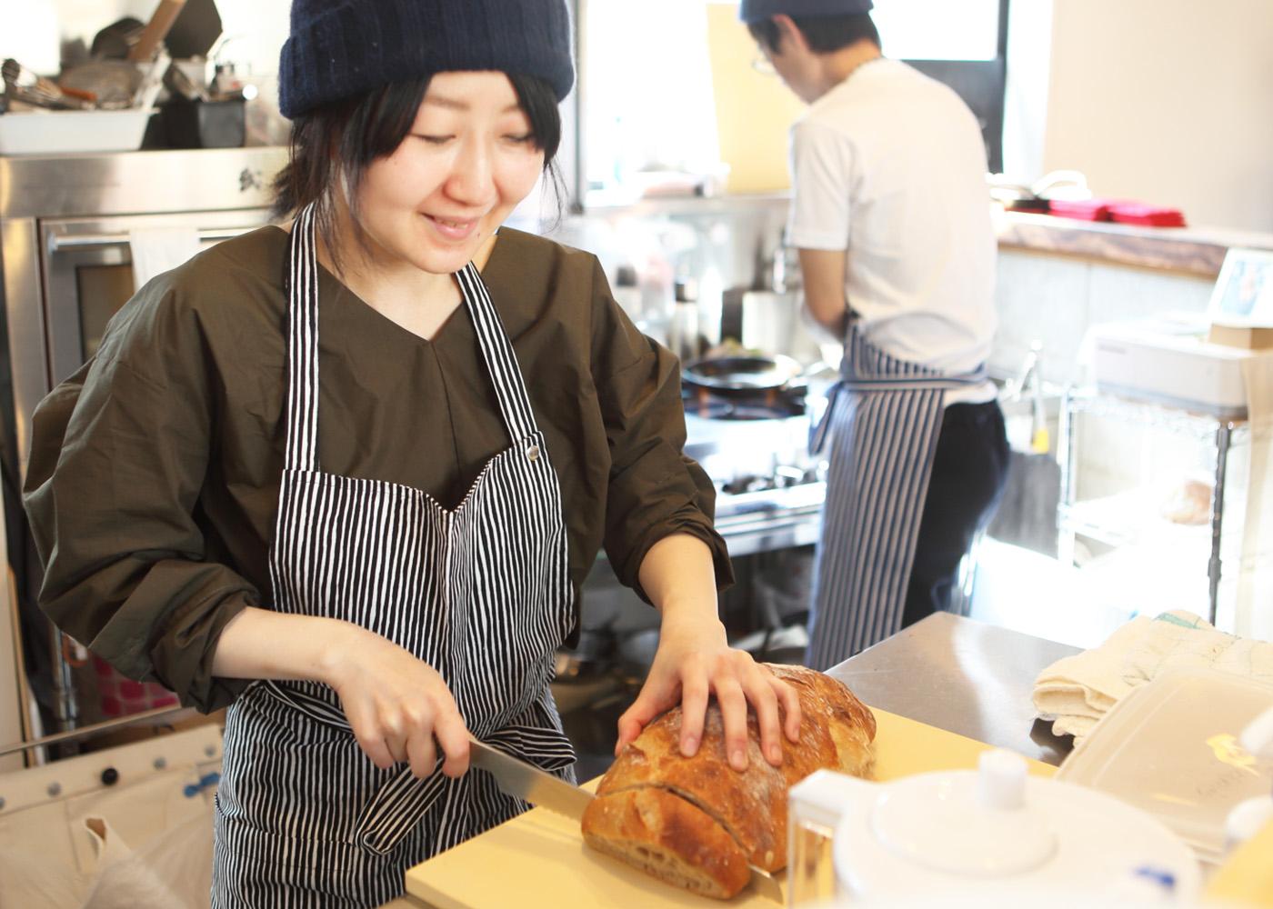 和歌山県新宮市Meganeパン飲食店家具