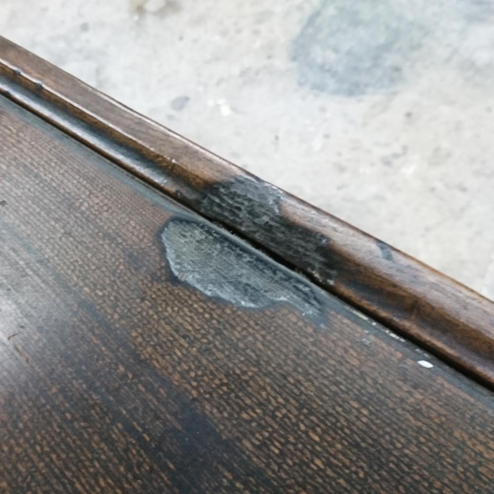 テーブル修理塗り替え塗装シミや傷の補修