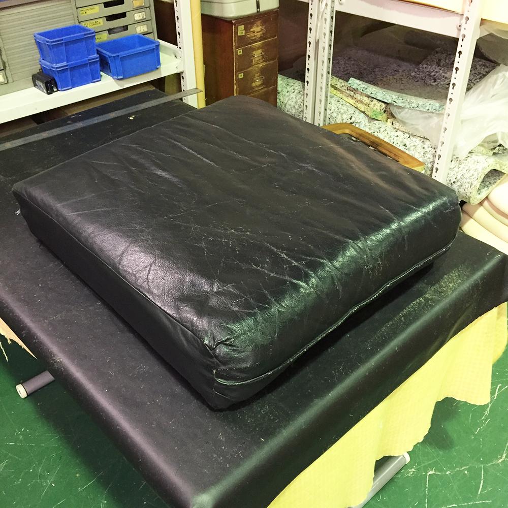 ソファ修理張り替えへたり傷革の傷みの補修