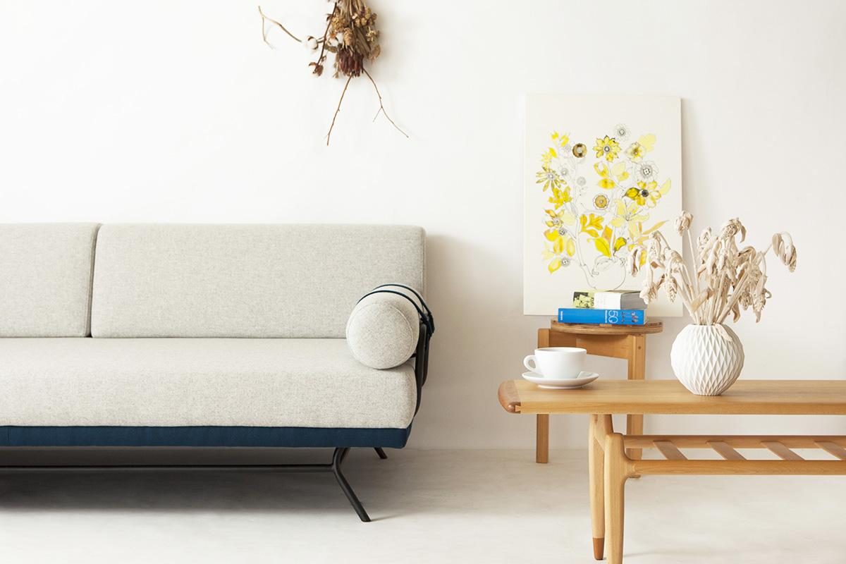 デンマーク北欧デザインソファ