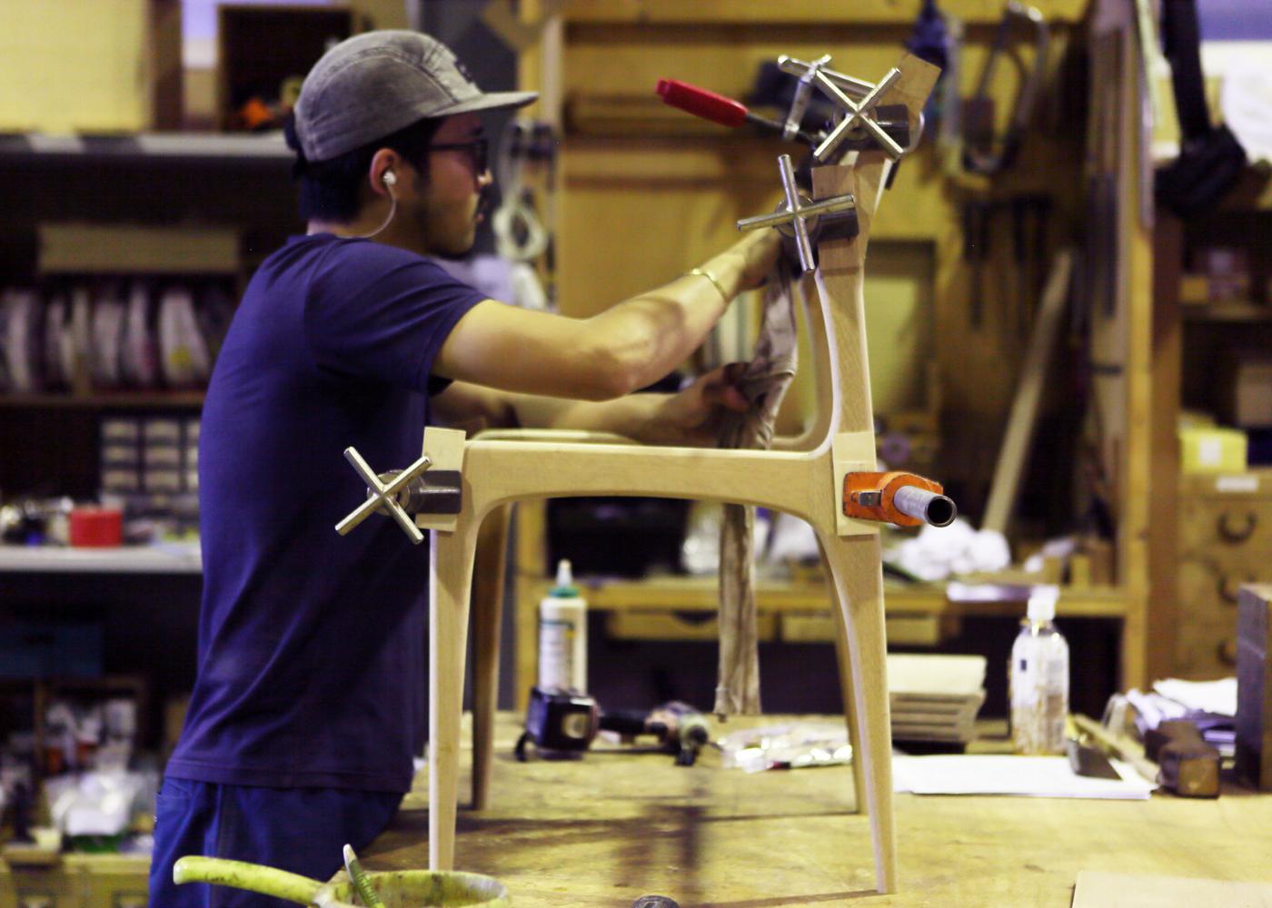 「祇園 大渡」様への椅子のオーダー製作事例