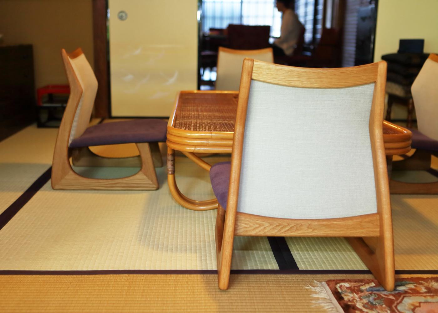 座卓・座椅子オーダー制作事例