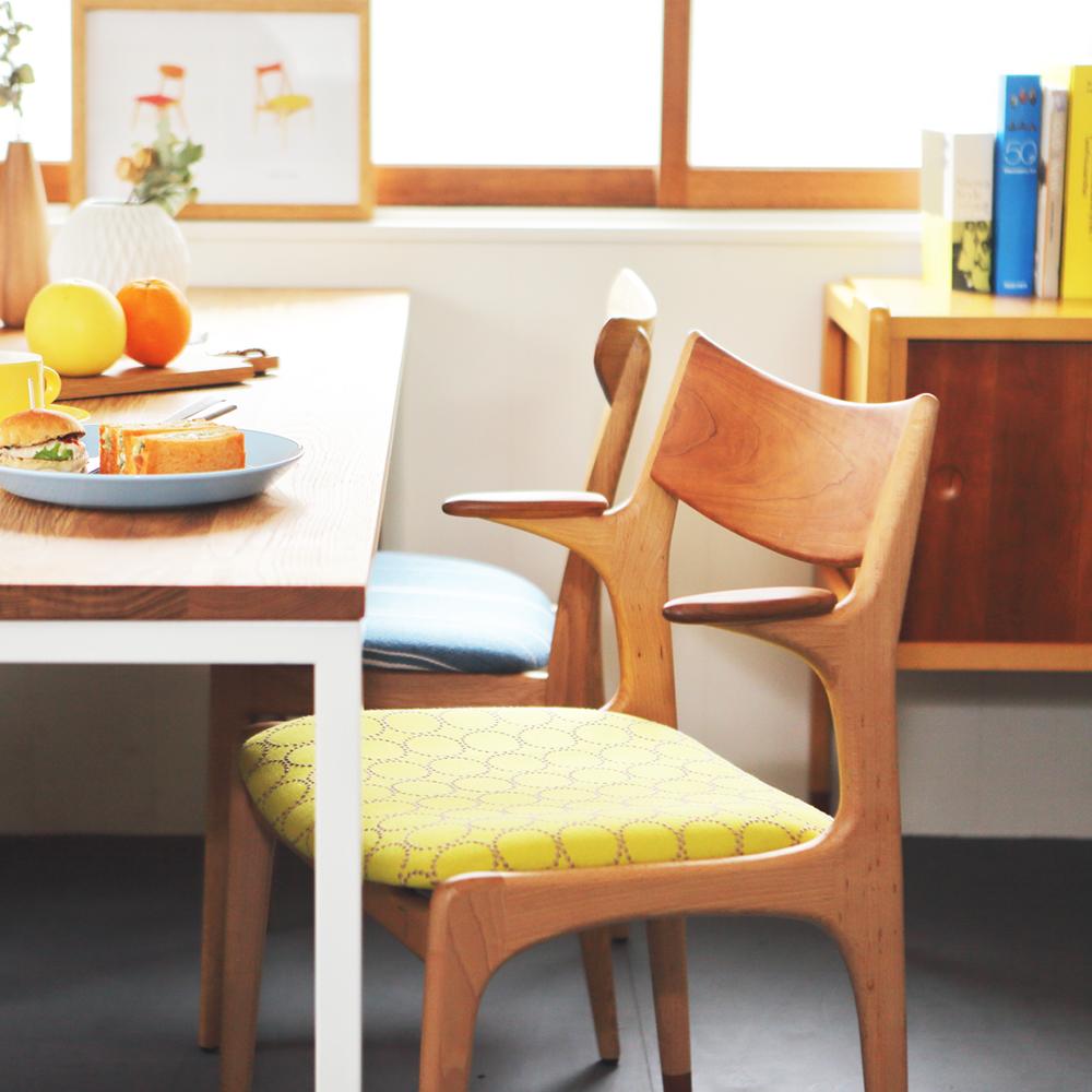 おしゃれな京都の家具店フィンガーマークスの家具コーディネート例