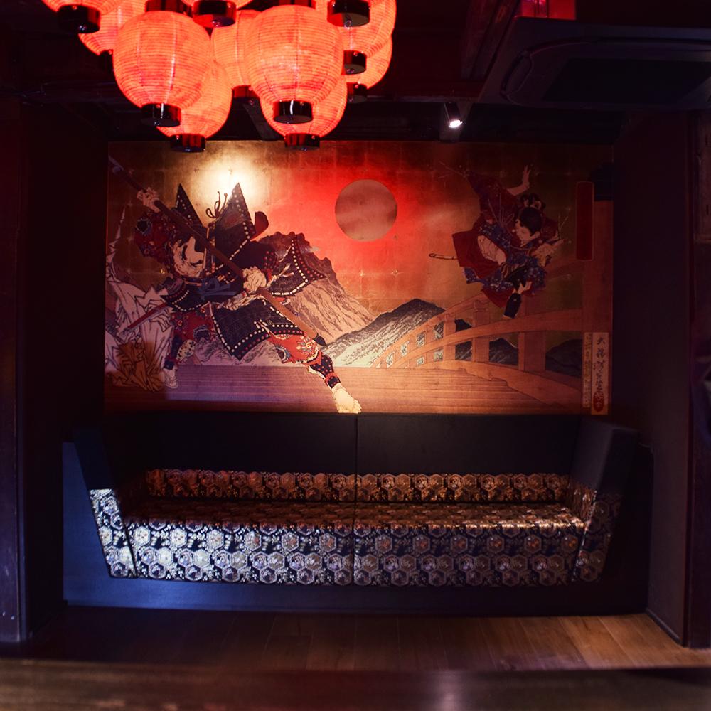 オーダー家具製作事例_京町屋宿のソファを製作しました