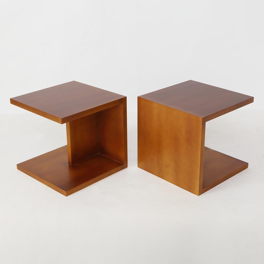 オーダー家具製作事例_サイドテーブルを製作しました