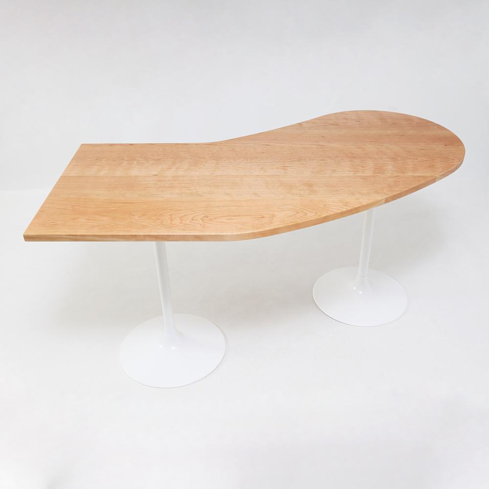 オーダーメイド家具製作事例_変形カウンターテーブル